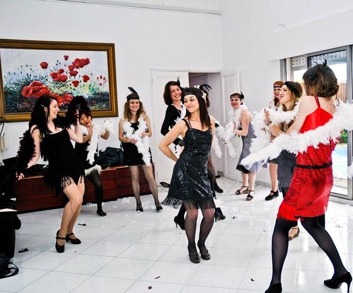 Cours de danse animation mariage, EVJF bordeaux, talence, lugon, libourne. Flash-mob, danse EVJF